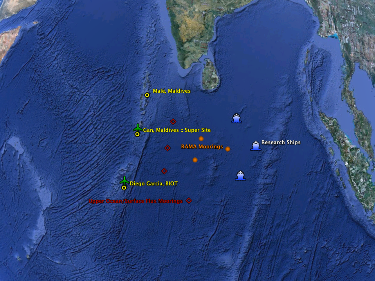 Facility Locations Earth Observing Laboratory